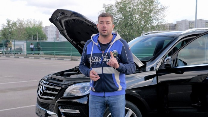 ЗАЛЁТ на 1.600.000р! Mercedes Benz ML - два в одном!