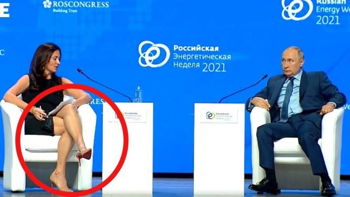 Путин РАЗНОСИТ вопросы американской провокаторши! Полная версия