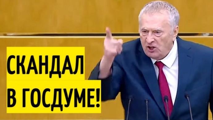 Идиоты ПОЛНЫЕ! Жириновский РАЗНОСИТ Государственную Думу!