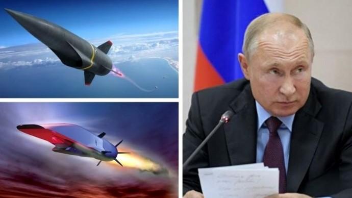 Срочно! Путин обвинил США в создании Россией гиперзвукового оружия!