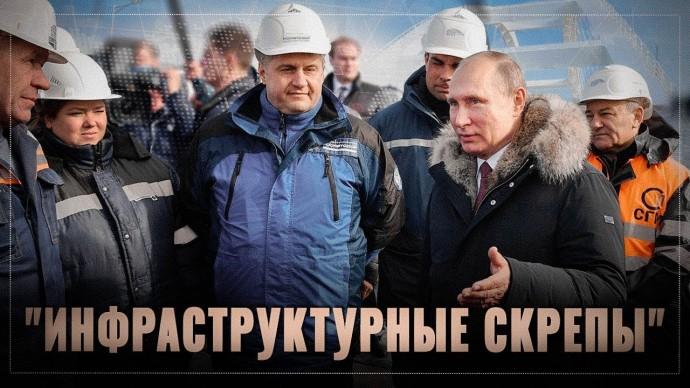 Инфраструктурные скрепы. Путин создает центр кристаллизации глобальной технологической зоны