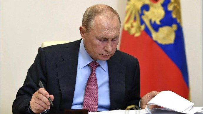 Путин назвал важнейшие части нацплана по восстановлению экономики