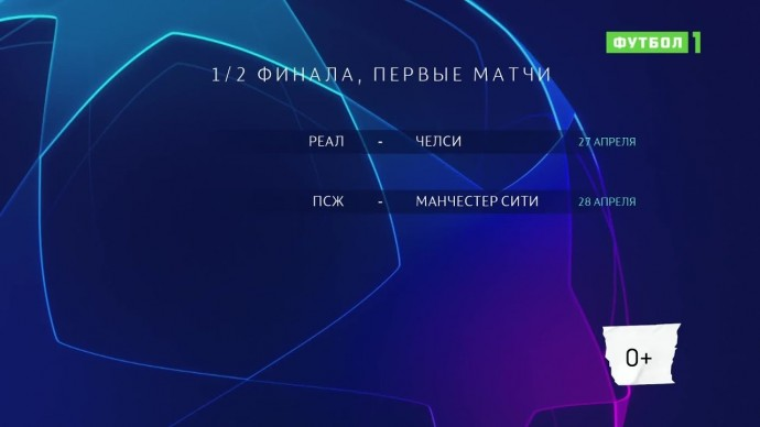 Лига чемпионов. Обзор матчей 28.04.2021