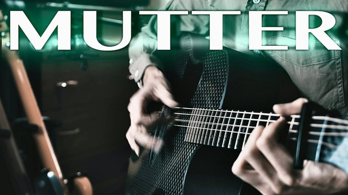Rammstein - Mutter⎥Fingerstyle guitar cover