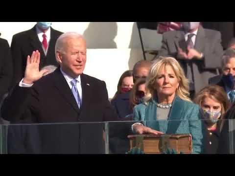46-й президент США Джо Байден вступил в должность президента США