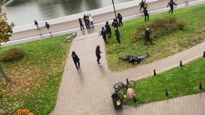 Силовики избили брата героя Беларуси биатлонистки Дарьи Домрачевой