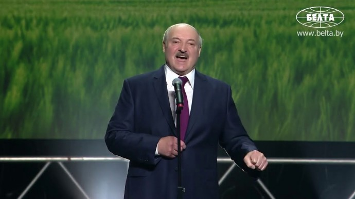Срочно! Лукашенко поклялся, что получил 80% голосов избирателей!