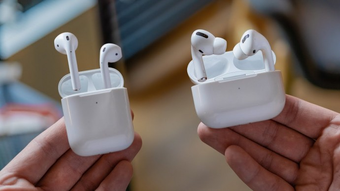 AirPods Pro vs AirPods 2 — обзор