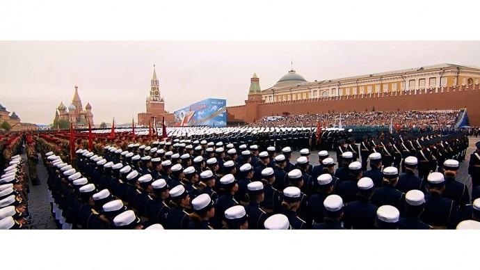 Лучшие моменты парадов Победы на Красной площади последних лет