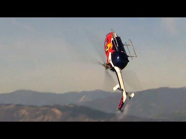 Stunning helicopter acrobatics - Chuck Aaron
