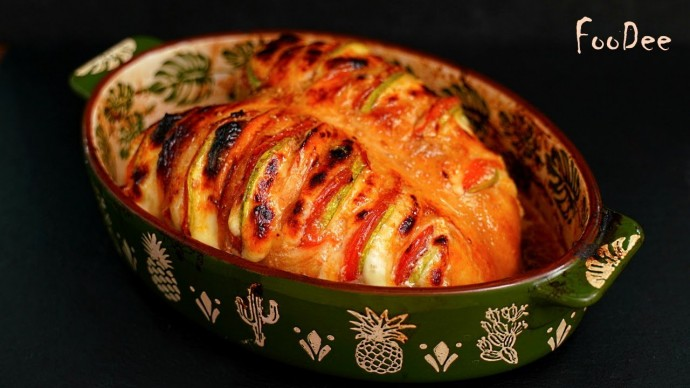 ШЕДЕВРАЛЬНО вкусно из простых ингредиентов! Сочная куриная грудка в духовке с овощами