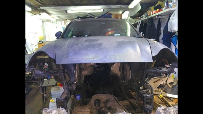 Обратился к дилеру. Убитый Porsche Turbo S. Монстр 9.