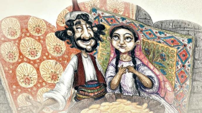 Бабушкины сказки - Али Баба и сорок разбойников | Мультфильмы для детей