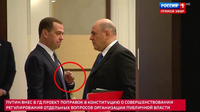 Выбор Путина: остаться навсегда или УЙТИ? О чем ШЕПТАЛИСЬ в кулуарах Медведев и Мишустин