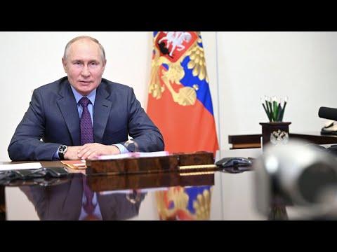 Путин дал старт железнодорожному движению по второму Байкальскому тоннелю