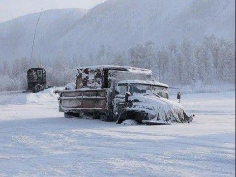 Дальнобойщики Севера. Дороги крайнего севера Зимник #5 Russian ice road truckers #5
