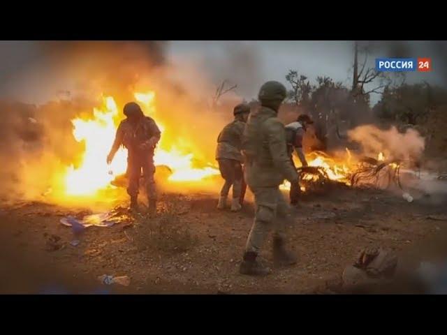 ⚡Срочные новости из Сирии! ВКС России НАНЕСЛИ УДАР по прорвавшимся БОЕВИКАМ в Идлибе