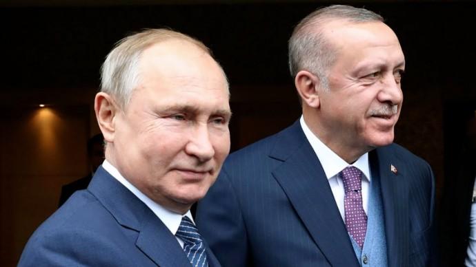 ИСТОРИЧЕСКИЙ созвон ПУТИНА И ЭРДОГАНА по Сирии! Последние новости из ИДЛИБА И США