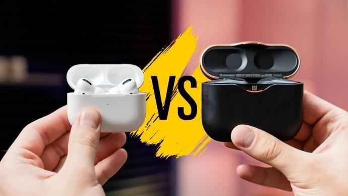 AirPods Pro vs Sony WF-1000XM3 — лучшие затычки с ANC?