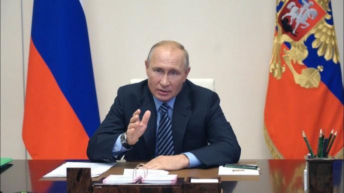 Путин назвал условия обеспечения технологического прорыва