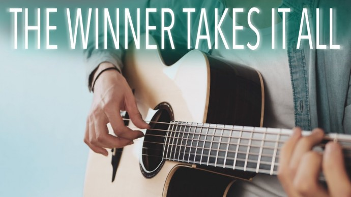 ABBA - The winner takes it all⎪Fingerstyle guitar