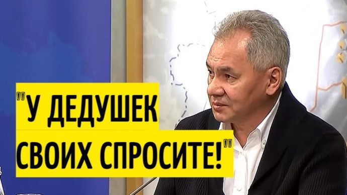"""Шойгу ответил Германии, призвавшей говорить с Россией """"с позиции силы"""""""