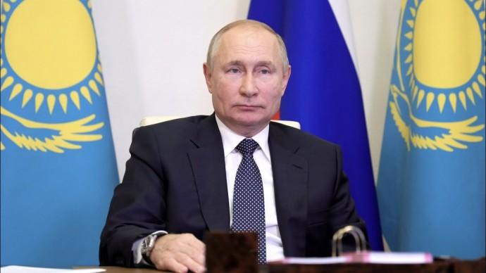 """Путин и Токаев обсудили """"зеленую"""" энергетику, обмеление рек и сокращение популяции тюленя"""