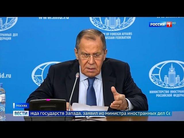 """""""Это то, о чем Путин предупреждал"""" Лавров провел БОЛЬШУЮ пресс-конференцию"""