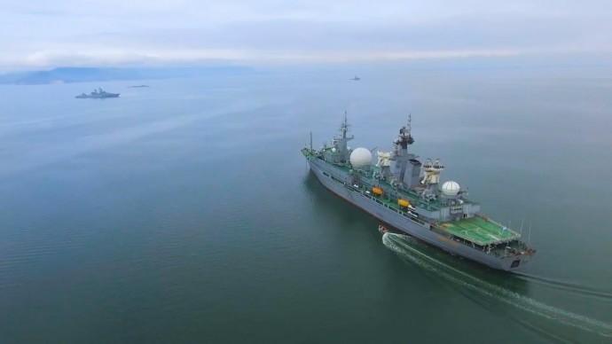 «Океанский щит» в Беринговом море: прошёл новый этап учений ВМФ