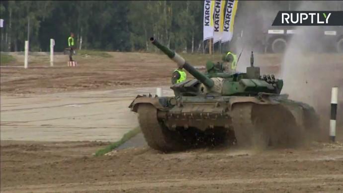 Соревнования по танковому биатлону «АрМИ-2020». День пятый — LIVE