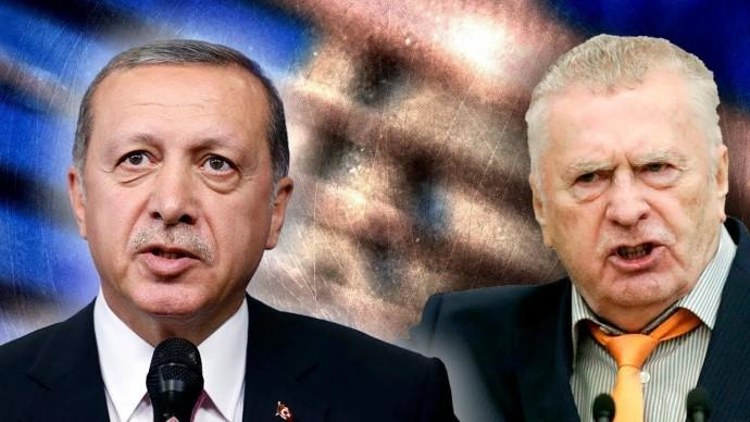 """Срочно! Жириновского об """"армянской кости"""" в горле Эрдогана!"""